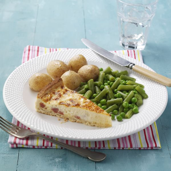 Image of the Quiche Lorraine  meal