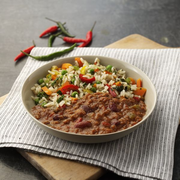 Image of the Free From Chilli Con Carne meal